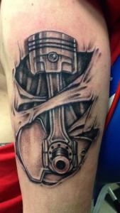 Piston Tattoo Designs