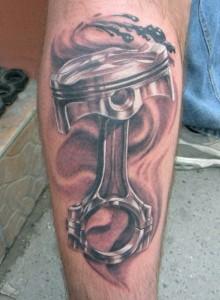 Piston Tattoo Sleeve