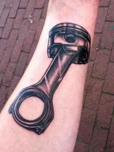 Piston Tattoos Pictures
