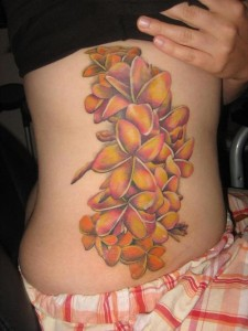 Plumeria Flower Tattoos