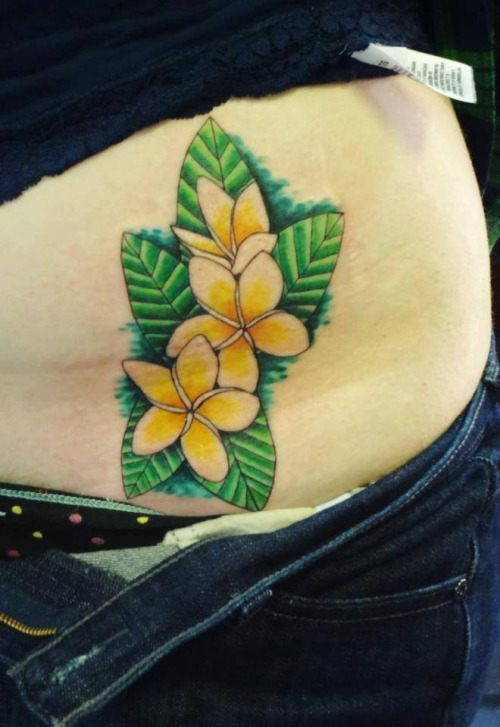 Plumeria Tattoos Designs, Ideas and Meaning | Tattoos For You