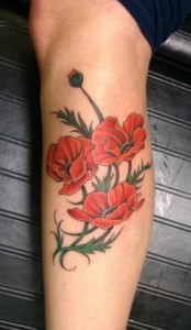 Poppy Tattoo Images