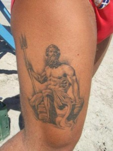 Poseidon Tattoo Ideas