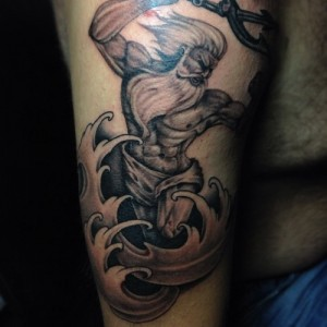 Poseidon Tattoo Images