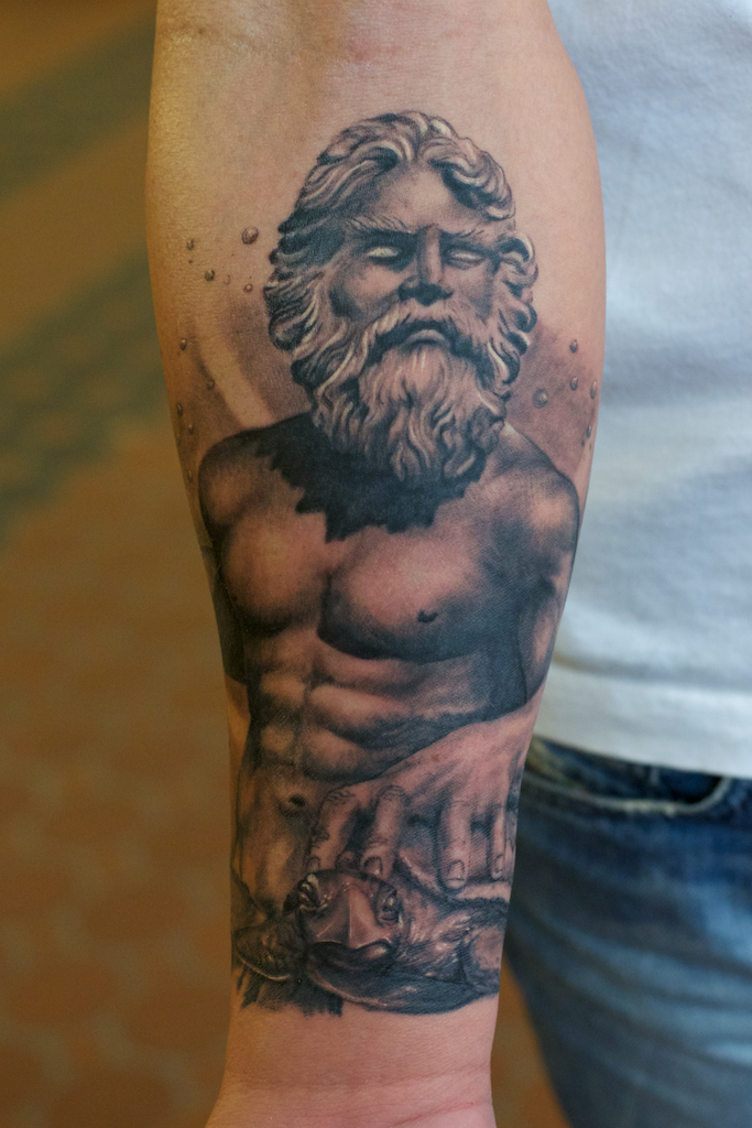 Poseidon Tattoos Designs, Ideas and Meaning | Tattoos For YouPoseidon Tattoo Designs