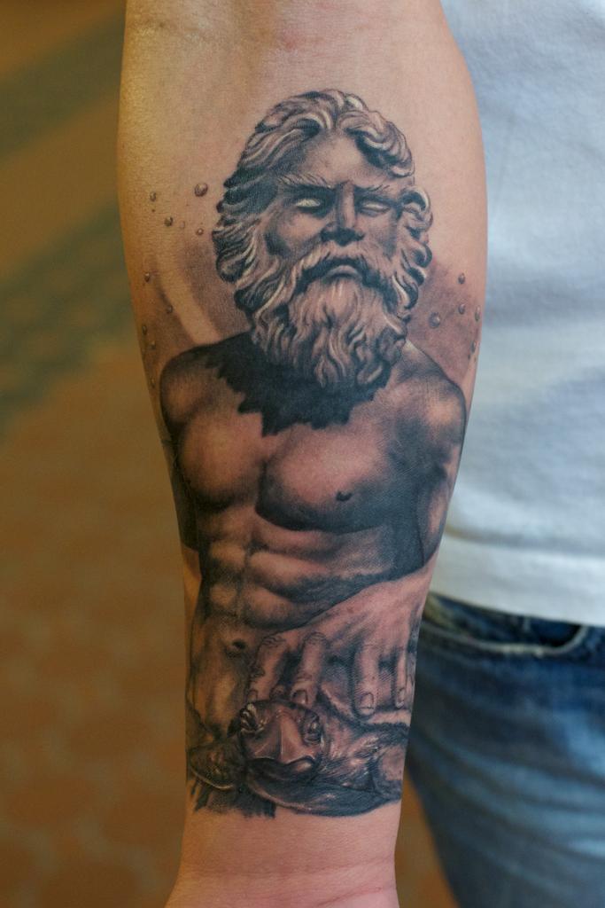 Poseidon Tattoo: Poseidon Tattoos Designs, Ideas And Meaning