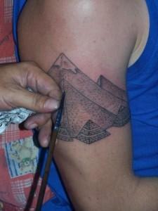 Pyramid Tattoo Sleeve