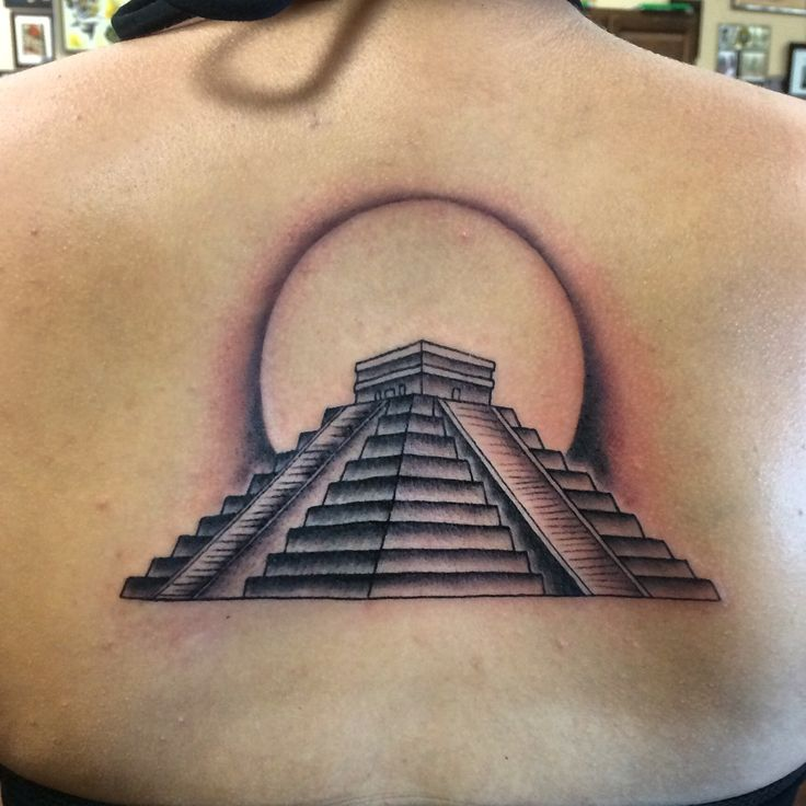 Pyramid Tattoos Designs, Ideas and Meaning | Tattoos For You