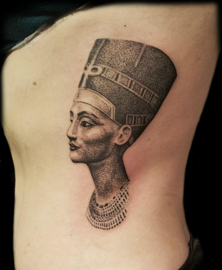 nefertiti tattoos designs ideas and meaning tattoos for you. Black Bedroom Furniture Sets. Home Design Ideas