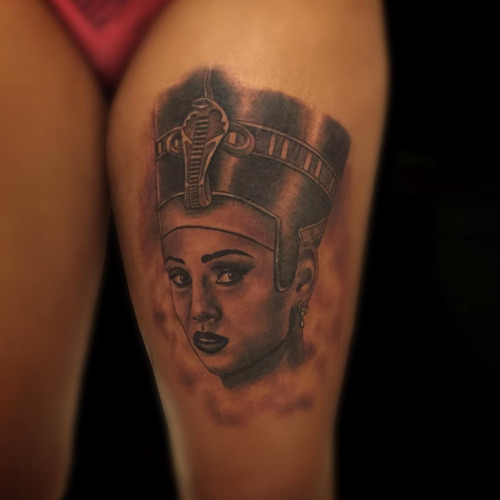 Nefertiti Tattoos Designs, Ideas And Meaning