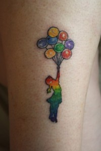 Rainbow Tattoos Designs