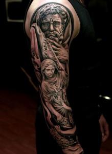 Realism Sleeve Tattoos