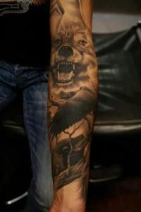 Realism Tattoos Sleeve