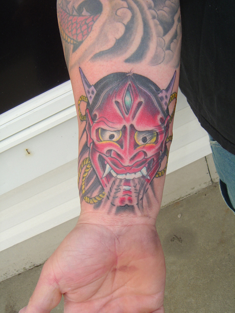 e8034c3ff Oni Mask Tattoos Designs, Ideas and Meaning | Tattoos For You