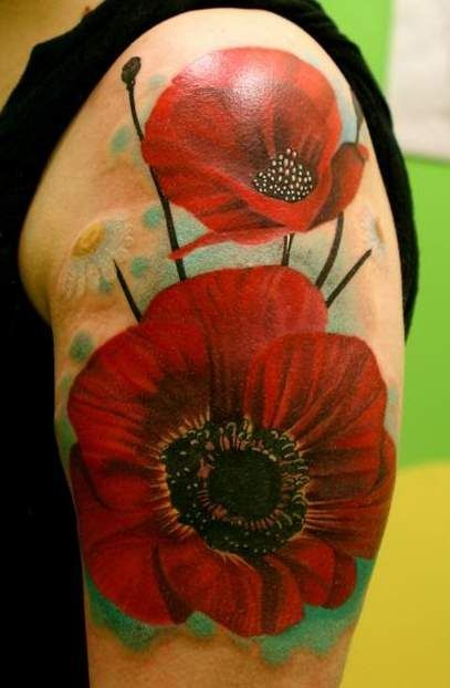 Poppy Tattoos Designs,...