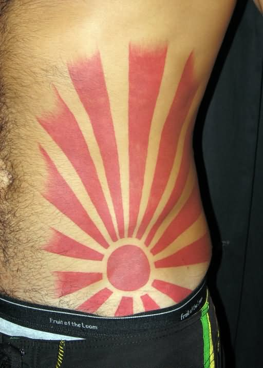 Rising Sun Tattoos Designs Ideas And Mraning Tattoos