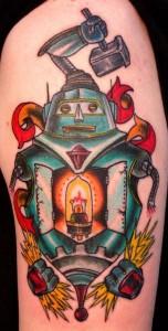Robot Arm Tattoos