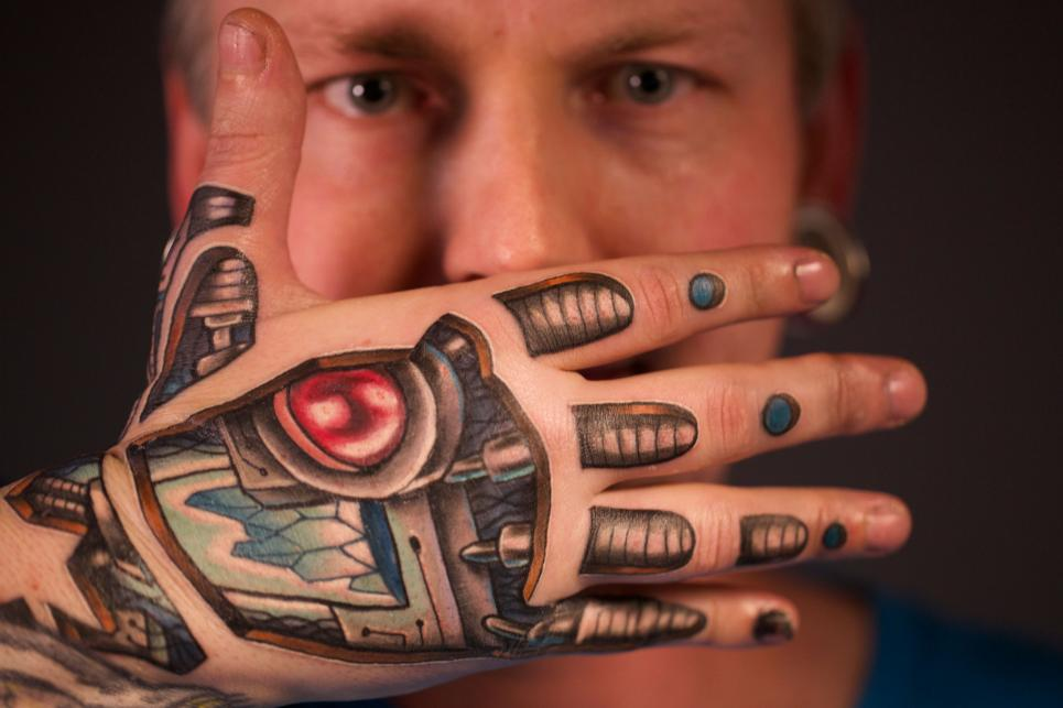 Robot Tattoos Designs, Ideas and Meaning | Tattoos For You