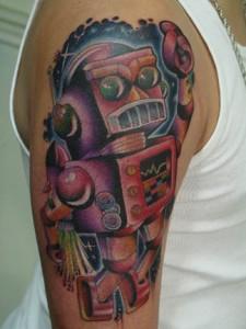 Robot Tattoo Designs