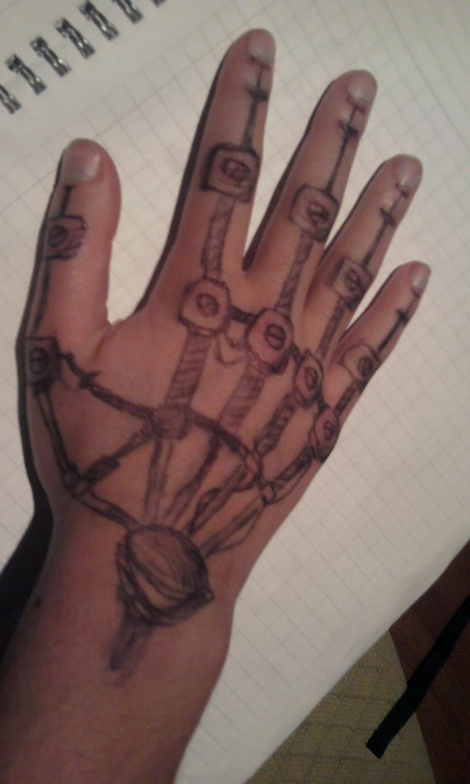 5efa0cb0da500 Robot Tattoos Designs, Ideas and Meaning | Tattoos For You