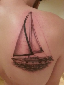 Sailboat Tattoo Pictures