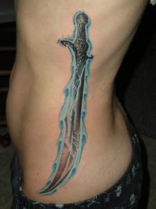 Samurai Sword Tattoo
