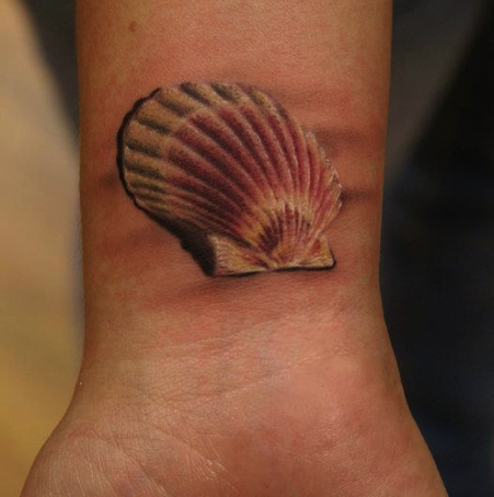 seashell tattoos designs ideas and meaning tattoos for you