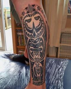 Shin Tattoo Designs
