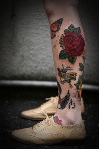 Shin Tattoos for Women