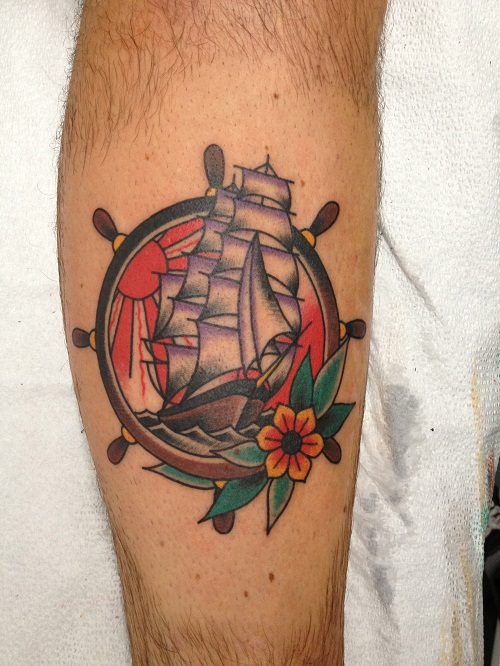 Ship Wheel Tattoos Designs, Ideas and Meaning | Tattoos ...