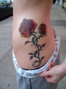 Side Waist Tattoos