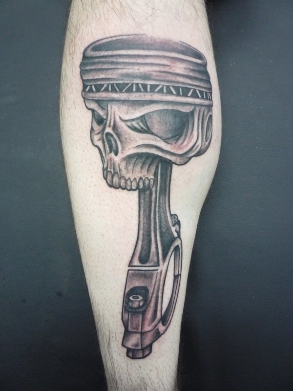 Piston Tattoos Designs, Ideas and Meaning | Tattoos For You