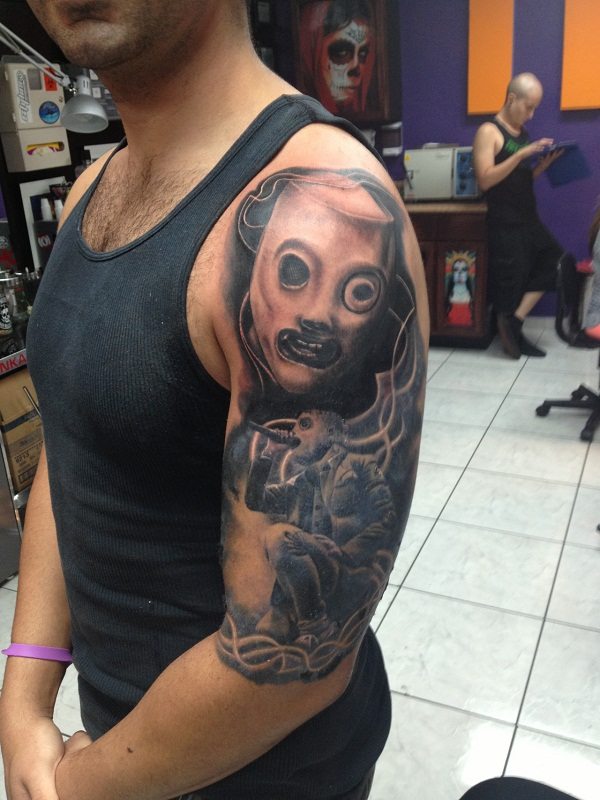 slipknot tattoos designs  ideas and meaning