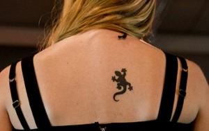 Small Lizard Tattoos
