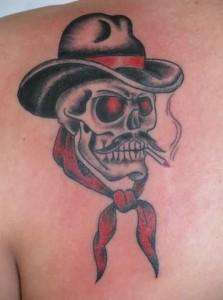Smoke Skull Tattoo