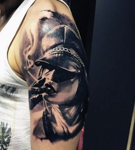 Smoke Tattoo Sleeve