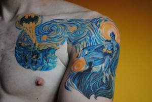 Starry Night Tattoo Designs