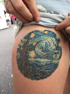 Starry Night Tattoo Pictures