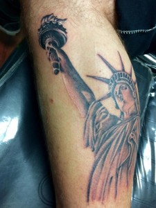 Statue of liberty tattoos designs ideas and meaning for Tattoos meaning freedom