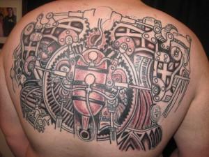 Steampunk Gear Tattoo