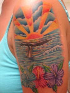Sunset Tattoos Designs
