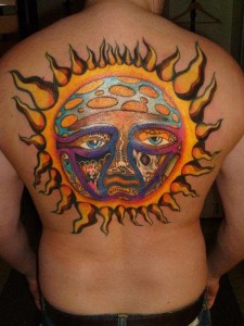 Sunshine Tattoos for Men