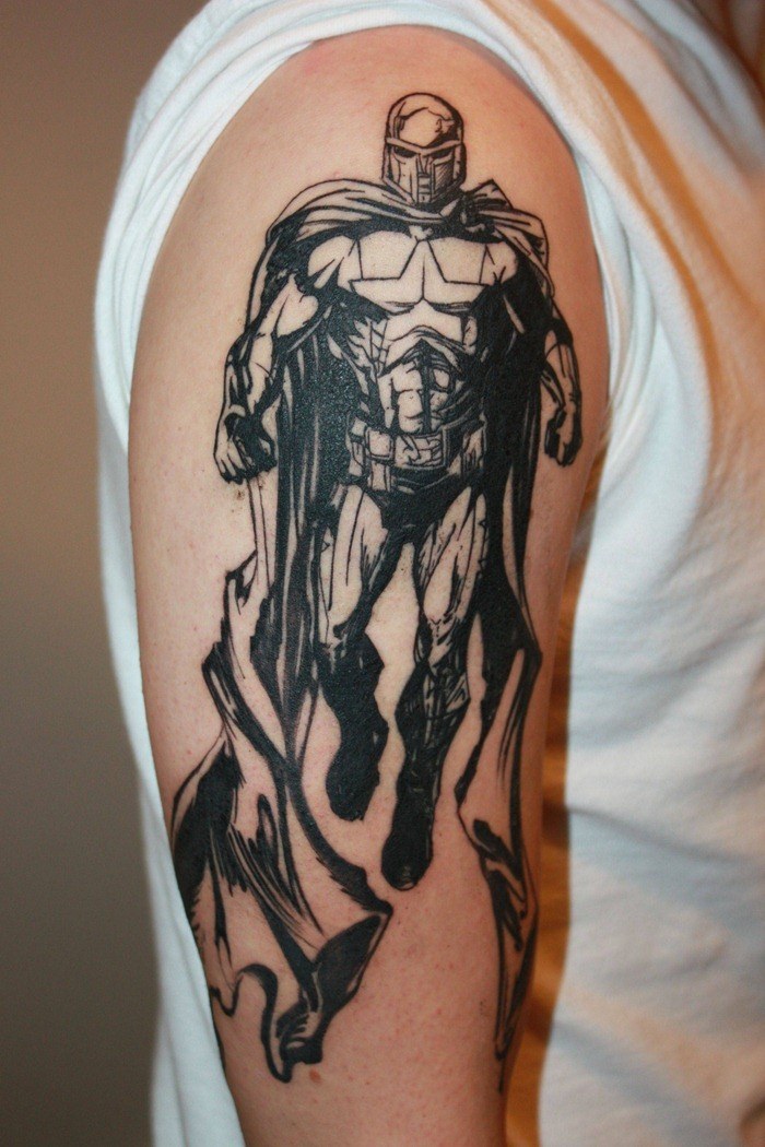 Superhero Tattoos Designs, Ideas And Meaning