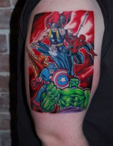 Superhero Tattoos for Men