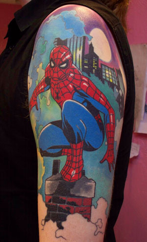 Superhero Tattoos Designs, Ideas and Meaning | Tattoos For You