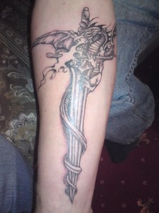 Sword Tattoo Design
