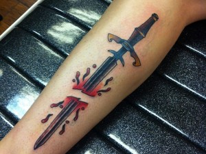 Swords Tattoos