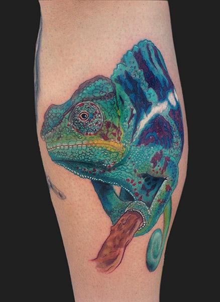 chameleon tattoos designs  ideas and meaning