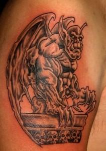 Tattoo Gargoyle