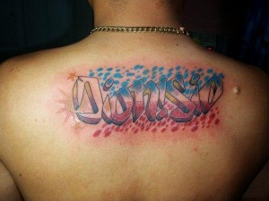 Tattoo Graffiti Letters